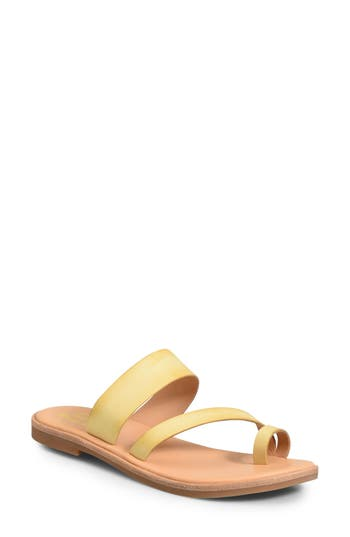 Kork-Ease Pine Sandal, Yellow