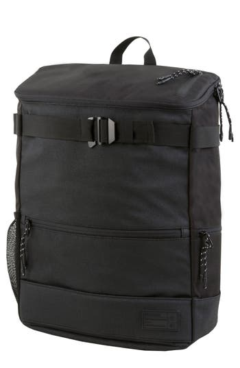 Hex Skateboard Backpack - Black