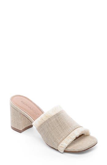 Bernardo Footwear Blair Fringe Mule, Brown