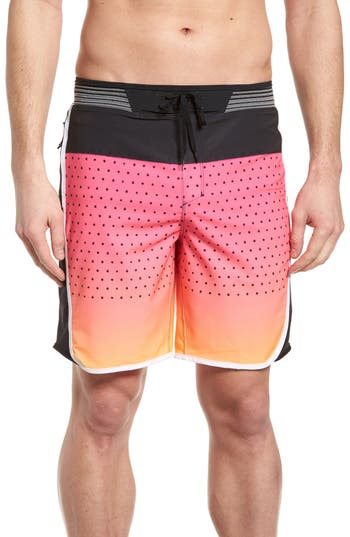Hurley Hyperweave Motion Reef Board Shorts, Red