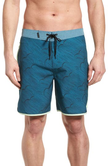 Hurley Phantom Thalia Street Board Shorts, Blue