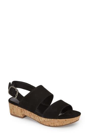 Vaneli Safty Slingback Sandal- Black