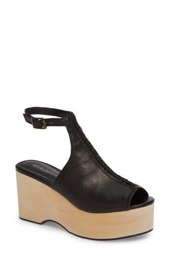 Kelsi Dagger Brooklyn Nova Platform Sandal- Black