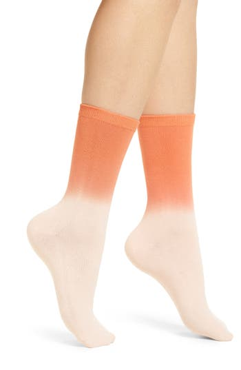Women's Richer Poorer Dakota Crew Socks, Size One Size - Pink