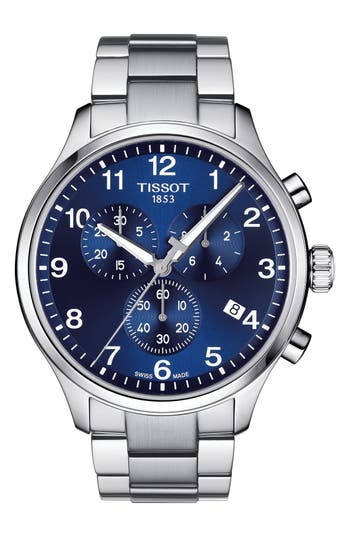 Tissot Chrono XL Collection Chronograph Bracelet Watch, 45mm