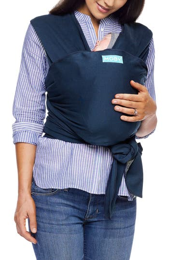 Infant Moby Wrap Classic Baby Carrier Size One Size  Blue