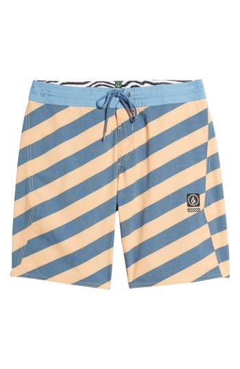 Volcom Stripey Stoney Boardshorts, Orange