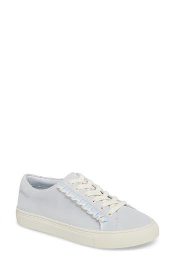 Women's Tory Sport Ruffle Sneaker, Size 6 M - Blue