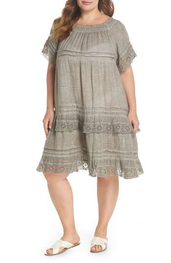 Plus Size Muche Et Muchette Esmerelda Cover-Up Dress, Size One Size - Beige