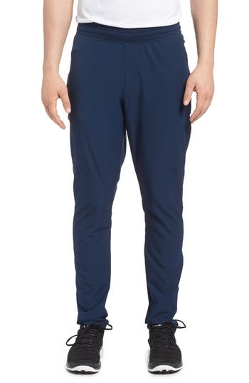 Under Armour Fitted Woven Training Pants, Blue