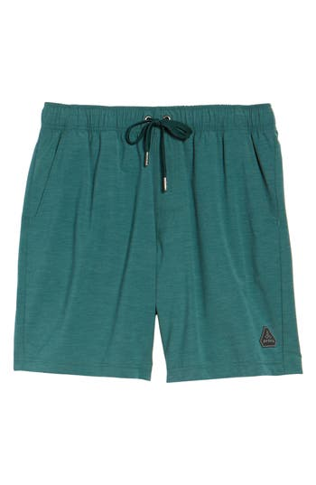 Prana Metric Board Shorts, Green
