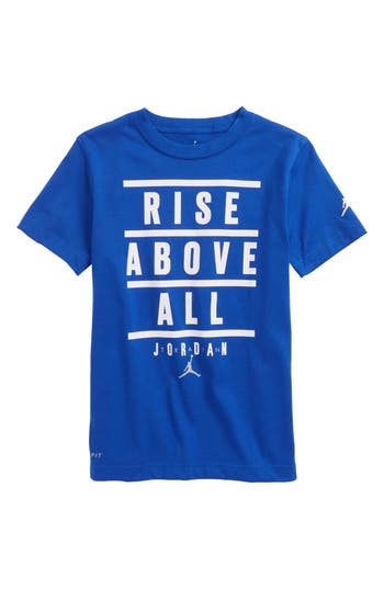 Boys Jordan Rise Above All Graphic Dry TShirt