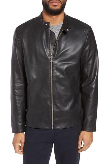 Calibrate Leather Moto Jacket