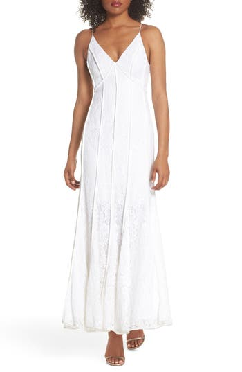 Keepsake The Label Dreamers Lace Gown, Ivory