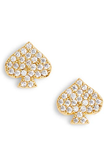 kate spade new york things we love spade stud earrings