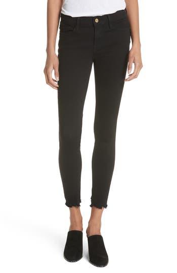 FRAME Le Skinny de Jeanne Raw Hem Skinny Jeans