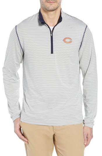 Cutter & Buck Chicago Bears - Meridian Half Zip Pullover