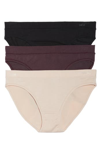 NAKED 3-PACK STRETCH MODAL MODERN PANTIES