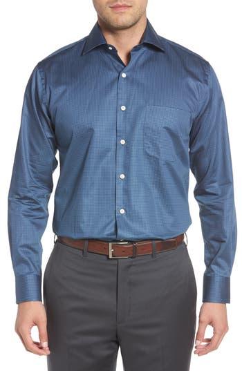 Men's Peter Millar Dark & Stormy Regular Fit Sport Shirt