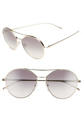 Prada Conceptual 55m Aviator Sunglasses