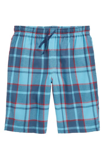 Boys Tucker  Tate Flannel Shorts Size S  78  Blue