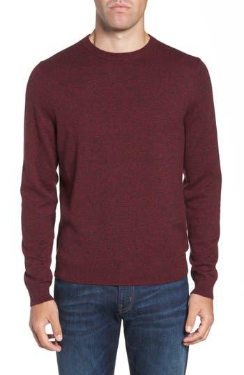 Nordstrom Men's Shop Cotton & Cashmere Crewneck Sweater