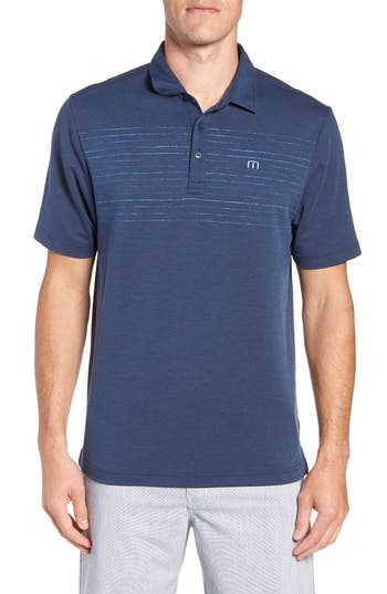 Travis Mathew Toastin Striped Polo
