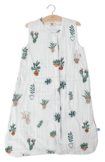 Little Unicorn Cotton Muslin Wearable Blanket Size M (612m)  Bluegreen