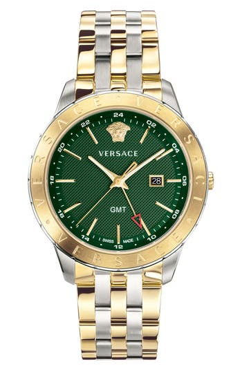 Versace Univers Bracelet Watch, 43mm