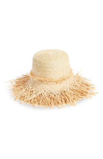 Lola Hats Hula Skirt Straw Hat