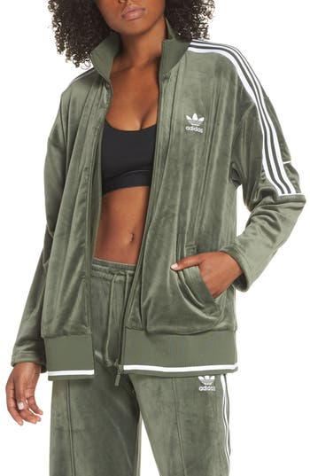 adidas Originals Velvet Track Jacket