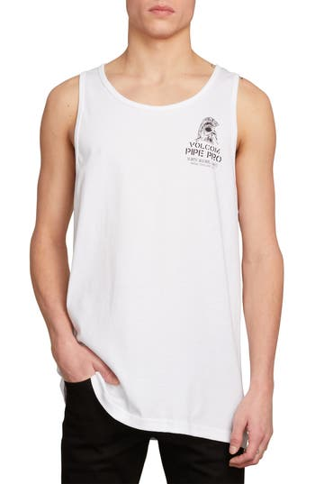 Volcom Pipe Pro Crest Graphic Tank