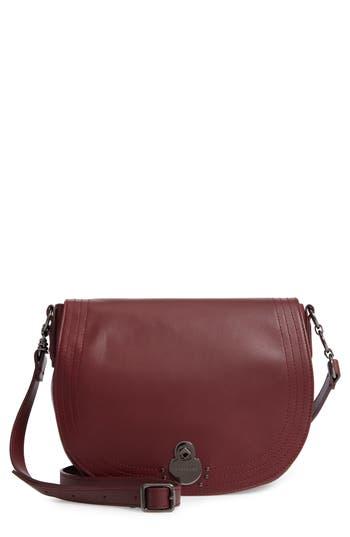 Longchamp Medium Cavalcade Leather Saddle Bag