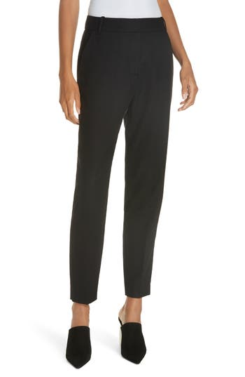 Equipment Warsaw Wool Ankle Trousers