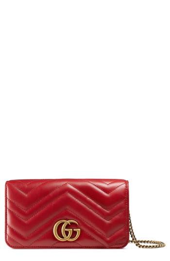 Gucci Marmont 2.0 Leather Shoulder Bag