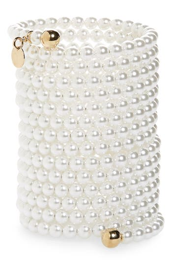 Y/Project Cleopatra Imitation Pearl Bracelet