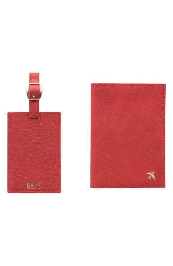 Béis Travel Luggage Tag & Passport Holder Set