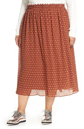 Halogen® x Atlantic-Pacific Crinkle Midi Skirt