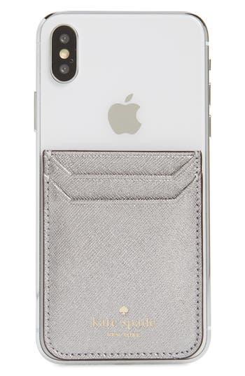 kate spade new york phone triple sticker pocket