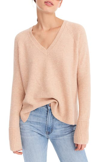 J.Crew Supersoft Yarn V-Neck Sweater