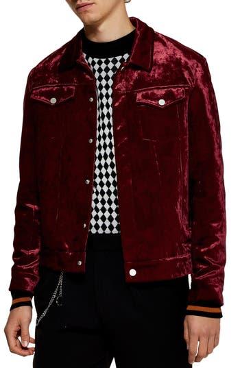 Topman Velvet Western Jacket