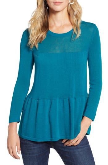 Halogen® Tiered Sweater