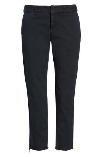 Nili Lotan East Hampton Stretch Cotton Twill Crop Pants