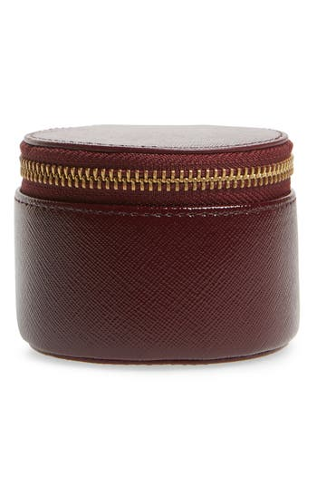 Nordstrom Leather Zip Around Pill Case