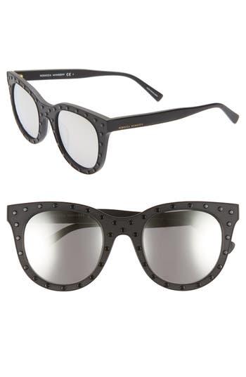 Rebecca Minkoff Cyndi2 50mm Studded Sunglasses