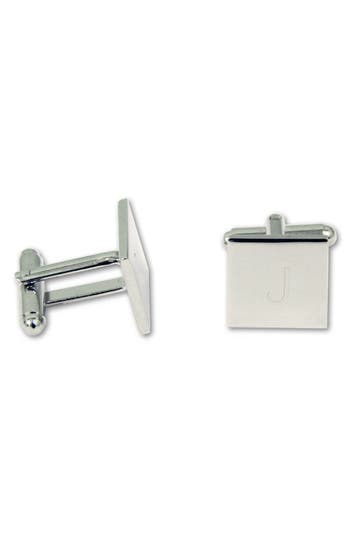 Cathy's Concepts Monogram Square Cuff Links