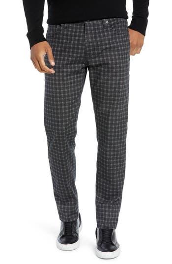 AG Tellis Modern Slim Fit Plaid Pants