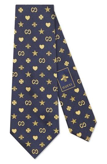 Gucci Elements Silk Tie