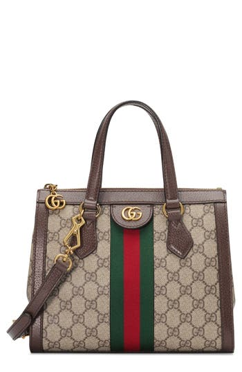 Gucci Small Ophidia GG Supreme Canvas Satchel