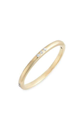 Argento Vivo Cubic Zirconia Stacking Ring